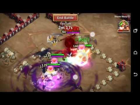 Castle Clash - Solo Storm Mesa 1