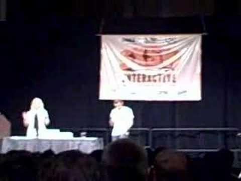 Gary Vaynerchuk with Kathy Sierra at SXSW