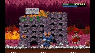 Rampage World Tour (PSX) Secret Level - Underworld