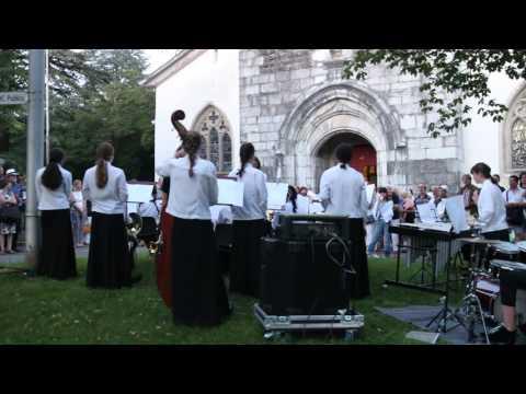 MLC Jazz at St Martins cathedral in Vevey Switzerland