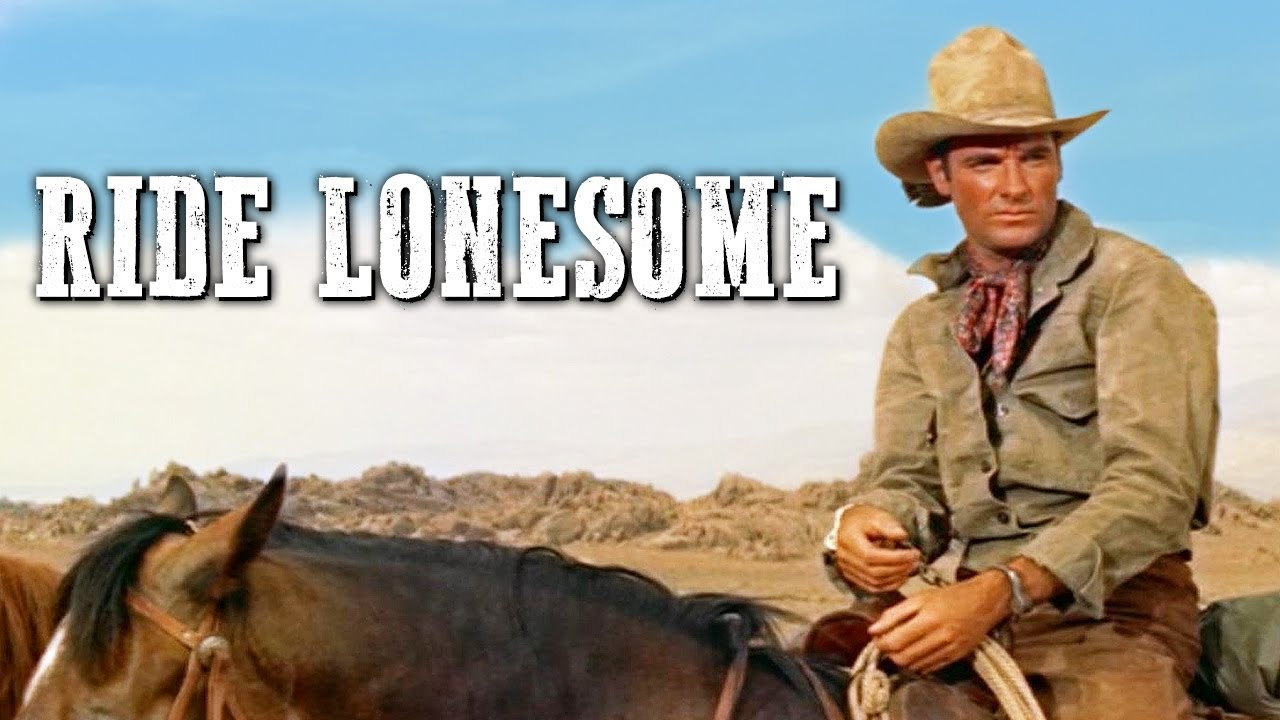 Ride Lonesome | COWBOY WESTERN MOVIE | Drama | Full Length Western Movie | Wild West