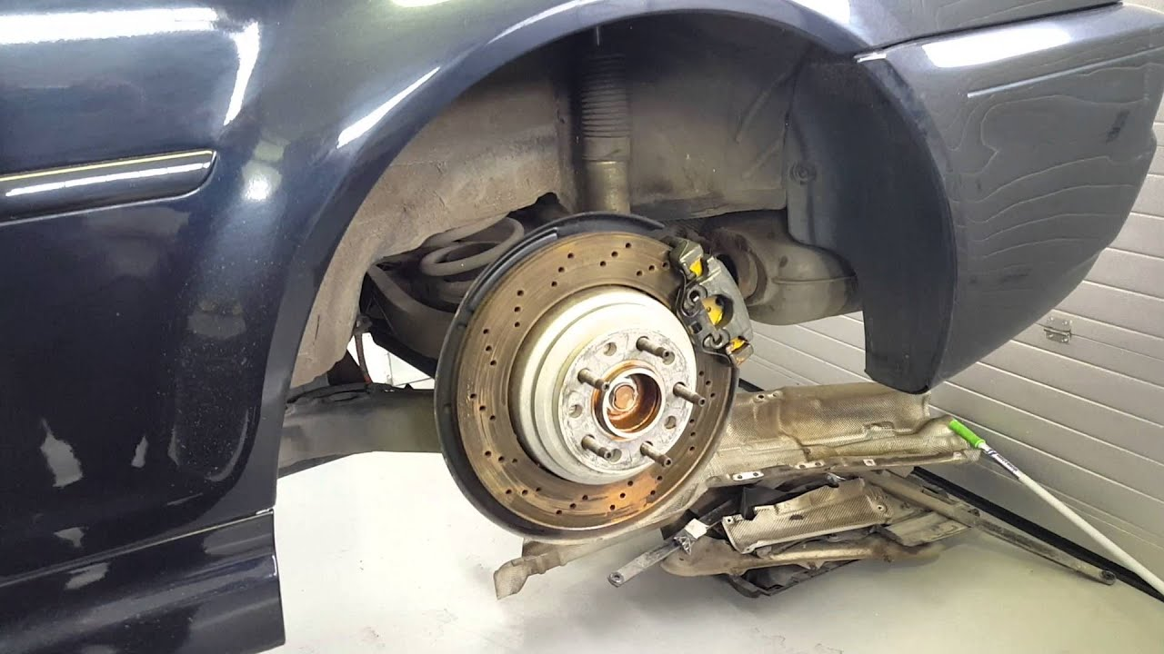 Right Angle Suspension : Bmw e m wisefab angle kit and hsd suspension youtube