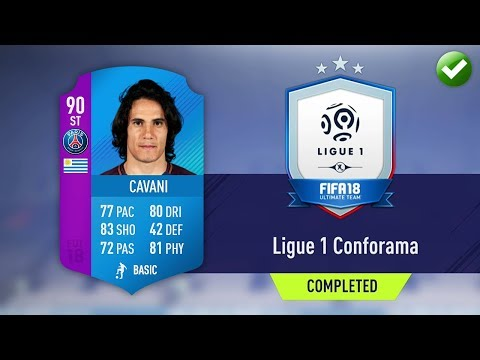 LIGUE 1 SBC! (CHEAPEST METHOD & COMPLETED) (FIFA 18 Ultimate Team)