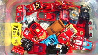 Disney Cars Toys Lightning McQueen Fall in Water Fun Video for Kids
