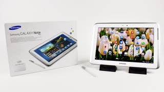 Samsung Galaxy Note 10.1 Unboxing & Review (Galaxy Note 10.1 N8000 3G 16GB)   Unboxholics
