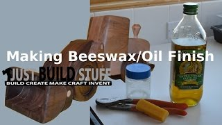 How to Make Beeswax and Olive Oil Wood Finish