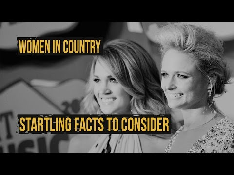 Startling Facts About Women and Country Music  Encore With Billy Dukes