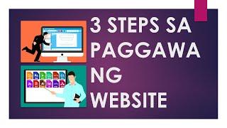 Paano Gumawa ng Website in 3 Steps