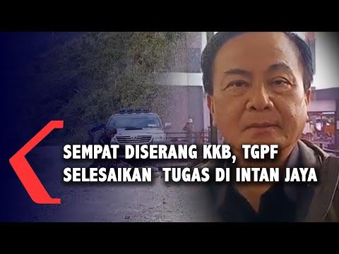 Sempat Diserang KKB, TGPF Berhasil Selesaikan Tugas Di Intan Jaya