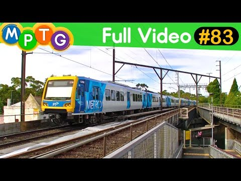 Metro Trains at Lalor and Canterbury Stations (Full Video #83)