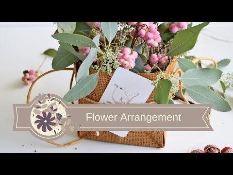 #DIY flower arrangement for a GIFT | Kompozycja Kwiatowa na #Prezent.