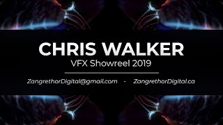 Chris Walker - VFX Showreel 2019