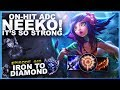 ON-HIT ADC NEEKO! IT'S SO STRONG! - Iron to Diamond - Ep. 49   League of Legends