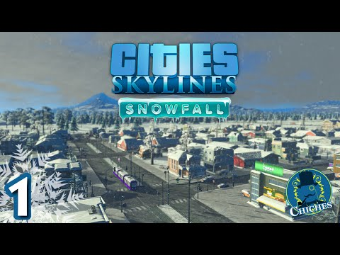 Cities Skylines - SnowFall - Preview #1 en español