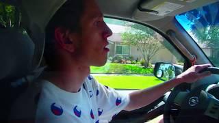 🔴 США Урок вождения 3 🔴 по трассе Blanched Park Orlando Florida 19.06.2018