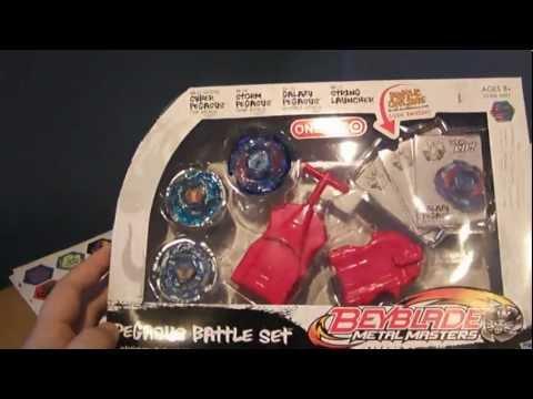 Beyblade Metal Masters: Pegasus Battle Set Unboxing!