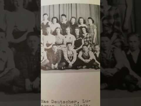 Scotland High School 1948 yearbook