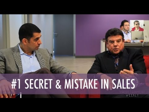 Tom Hopkins #1 Secret & Mistake in Sales
