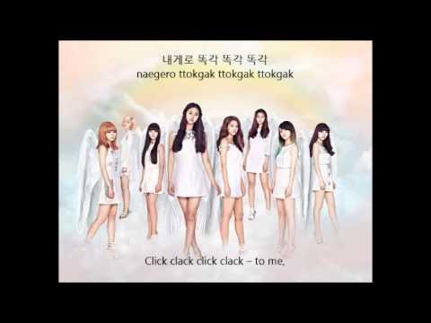 AOA -  ELVIS (Hangul - Rom -  English) Lyrics .