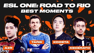 CS:GO Best Moments | ESL ONE: ROAD TO RIO | ВУЛКАН КИБЕРСПОРТ