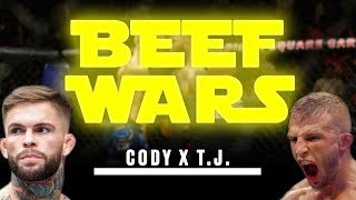 Beef Wars! The TJ Dillashaw Vs. Cody Garbrandt Bitter Rivalry Explained