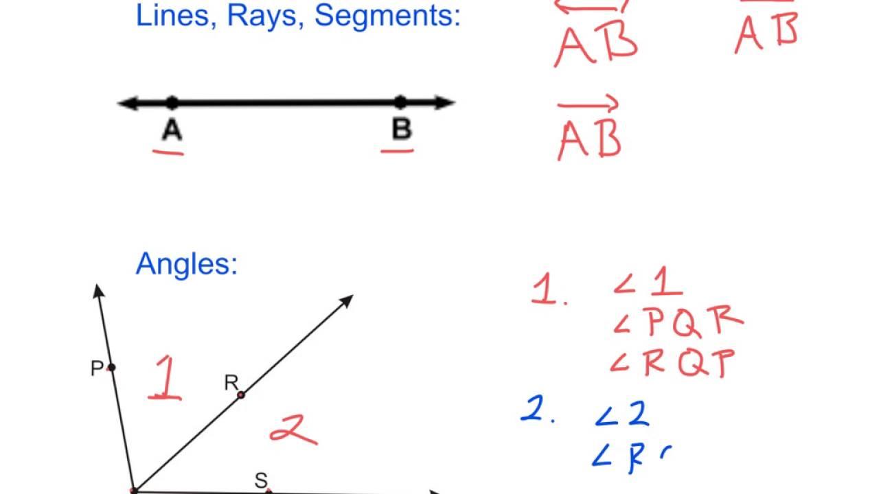 Intro to geometric notation - YouTube