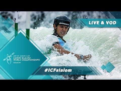 2019 ICF Canoe Slalom Junior & U23 World Championships Krakow Poland / Teams – C1w, K1m
