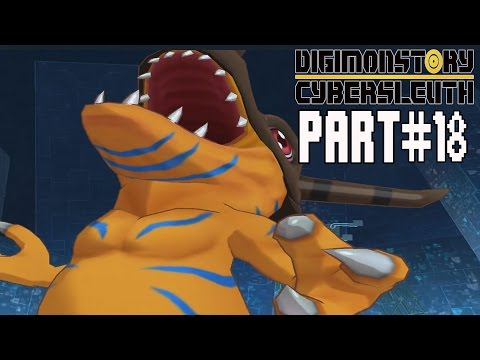 Digimon Story Cyber Sleuth Walkthrough Part 18 Gameplay Lets Play Reviews