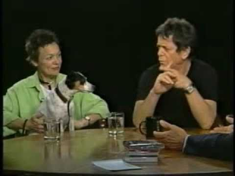 Laurie Anderson & Lou Reed Interviewed By Charlie Rose (2003) - Part One
