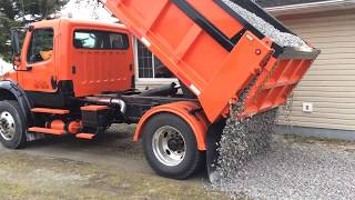 Tailgating With The M2 Single axle dump