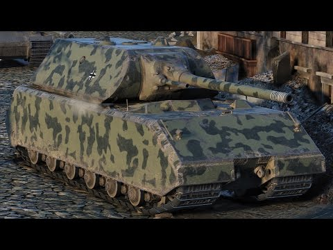 World of Tanks Maus - 7 Kills 9,5K Damage