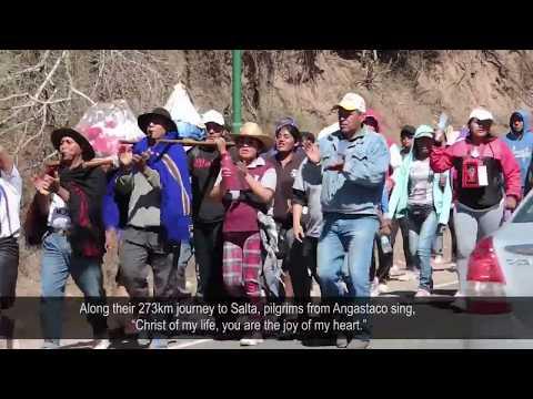 Pilgrims make their way to Salta, Argentina for feast of Señor y Virgen del Milagro
