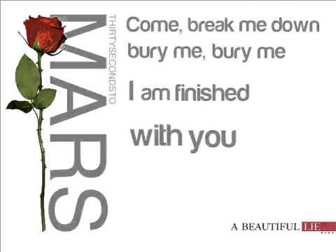 30 Seconds to Mars - The Kill [lyrics] - YouTube