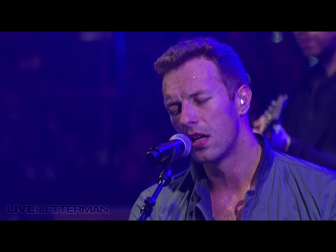 Coldplay  The Scientist  on Letterman