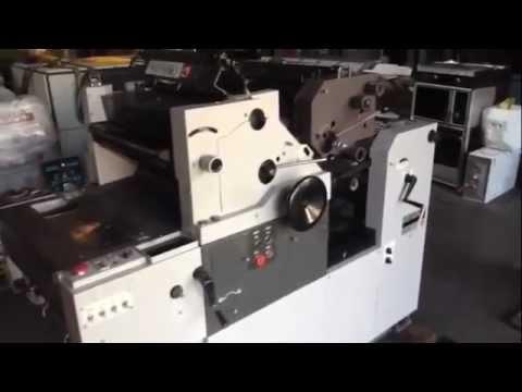 hamada e47 s offset printing press youtube rh youtube com