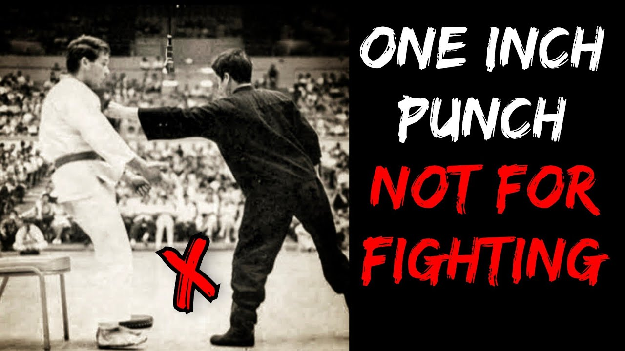 You Think One Inch Punch is REAL Fighting Technique ?