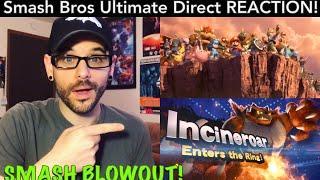 "Smash Bros Ultimate Direct REACTION! ""Grinch Leak"" Confirmed FAKE?! | Ro2R"