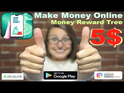 Earn real money fast and easy app I Money Reward Tree I earn real money I earn real money app 2021