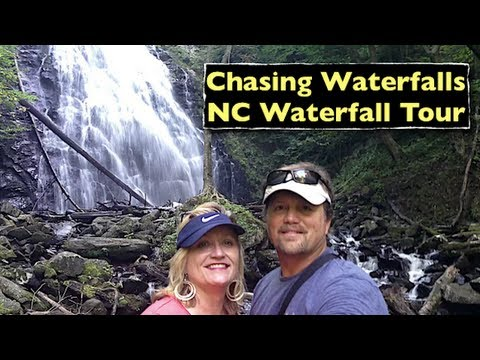 Chasing Waterfalls ~ North Carolina Waterfall Tour