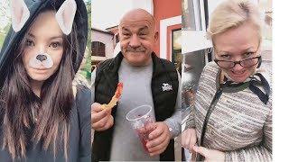 Ида галич с родителями ест шаурму и катается на подаренном Мерседесе