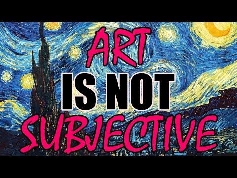 Art is Not Subjective