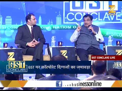 This is what Transport Minister Nitin Gadkari spoke at #GST Conclave