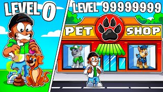I BUILT A LEVEL 999,999,999 ROBLOX PET TYCOON