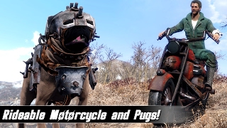 Fallout 4 Mods Week 52 - Rideable Motorcycle and Pugs!