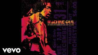 Jimi Hendrix Power Of Soul Jimi Hendrix: Machine Gun: Fillmore East 12/31/1969 Audio