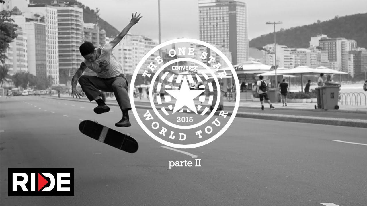 659c35c3f6dd Converse Cons One Star World Tour Brazil Part II - YouTube