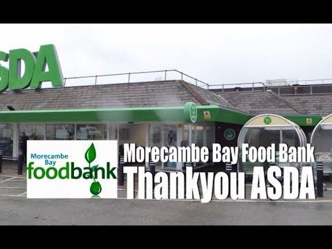 Morecambe Bay Foodbank The Trolley Challenge At Asda