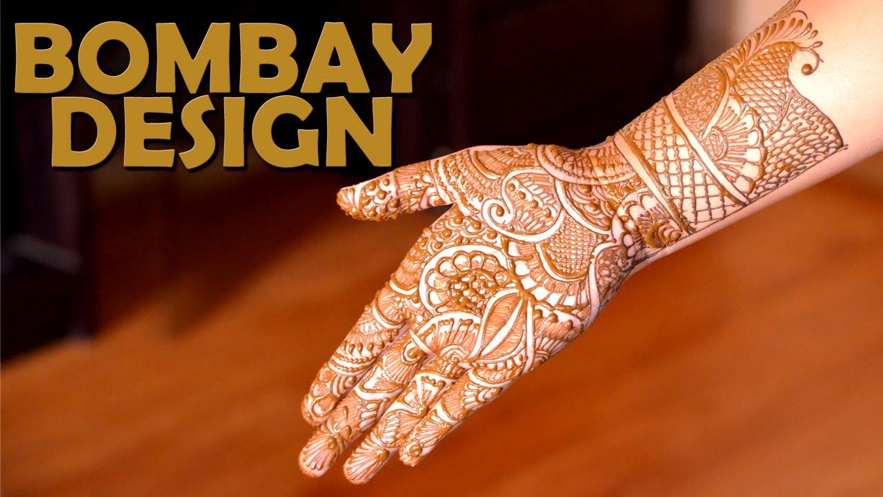 Bridal Mehendi Bombay Design Simple Mehendi Designs