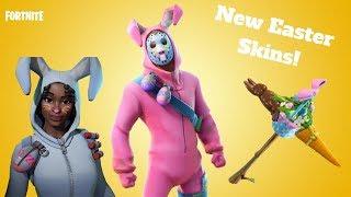 *New* Fortnite Easter Skins! Rabbit Raider, Bunny Brawler, Carrot Stick!