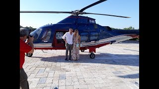 Helikopterde Sıra dışı Evlilik Teklifi Organizasyonu Antalya Semalarında...